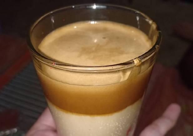 Dalgona coffe (tanpa nescafe classic)