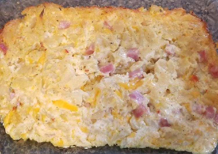 Steps to Prepare Super Quick Homemade Southwest hash brown casserole