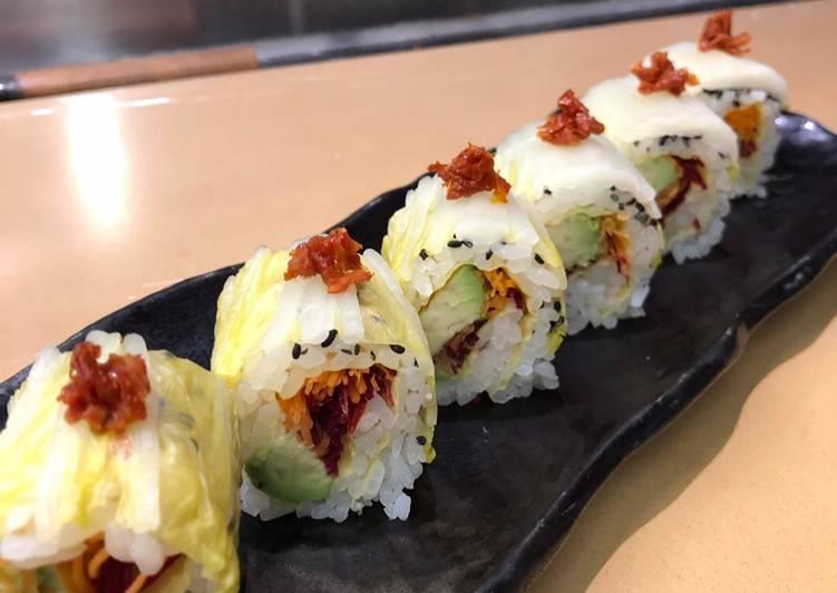 Vegan sushi roll / GF