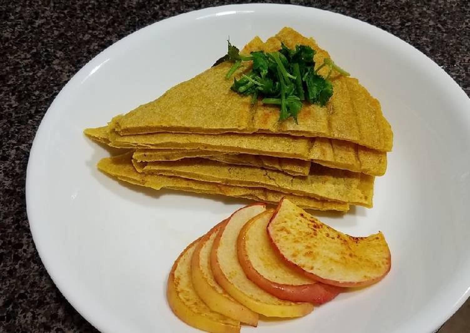 Savory Kamut Sourdough Pancake