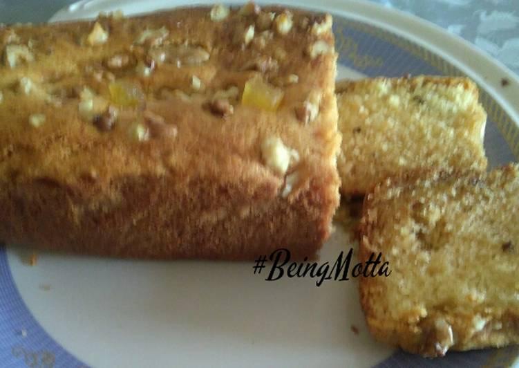 Pineapple-Walnut Slice Cake