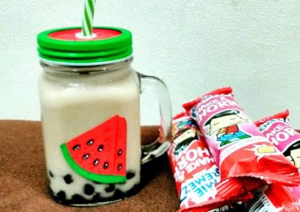 Ice Tiramisu milkshake bubble