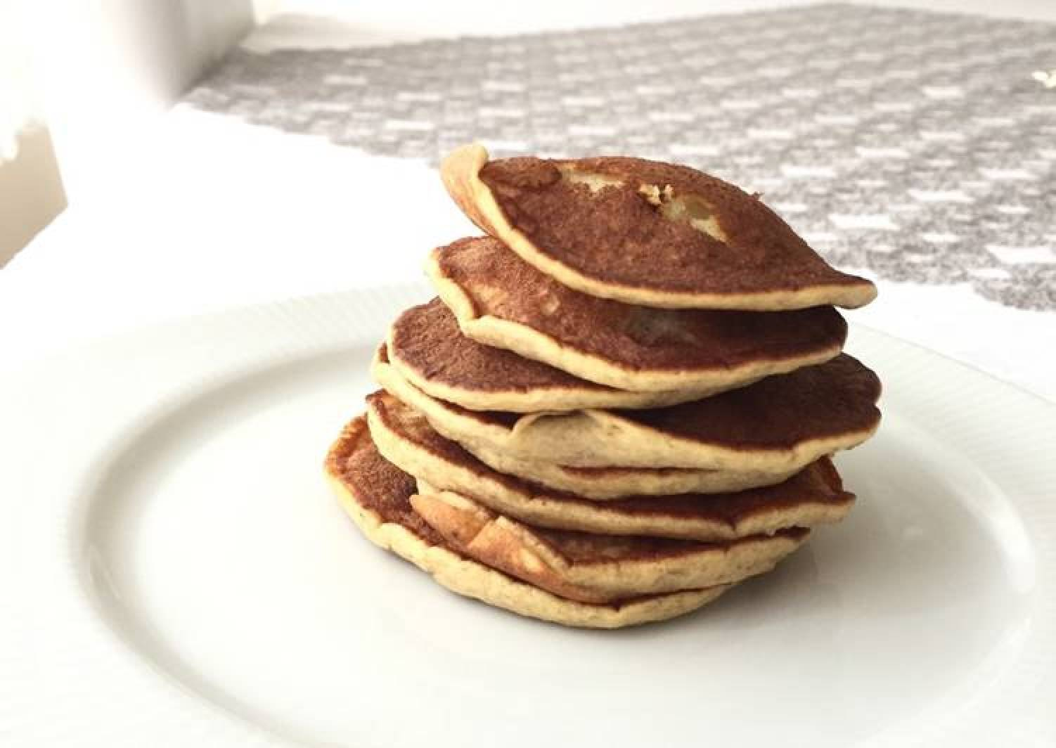 2 ingredients pancake