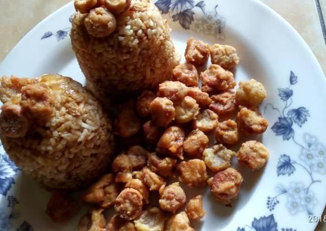 Nasi Goreng Sosis (Sarapan simple untuk anak)