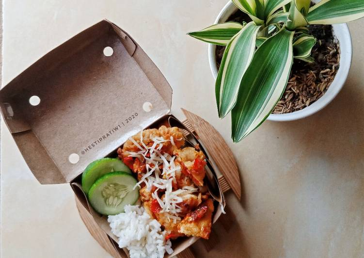 Rice Box Ayam Geprek
