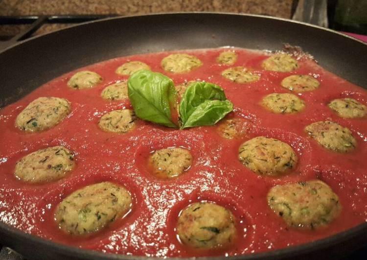 """Zucchini """"meatballs"""""""