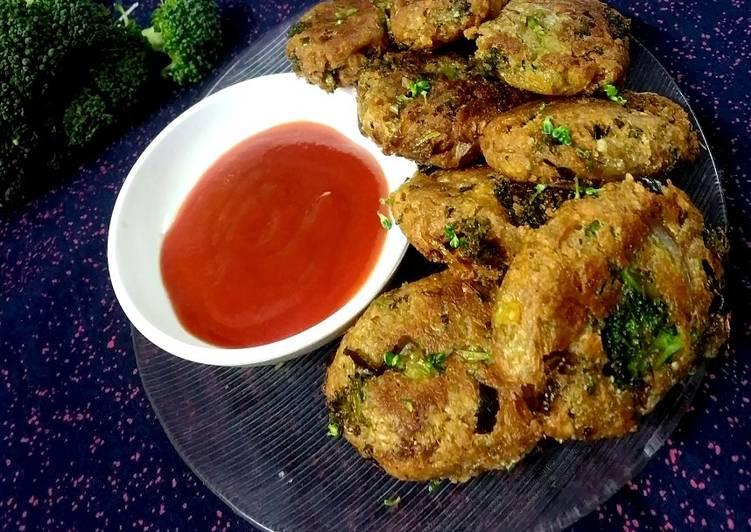 Broccoli paneer chops