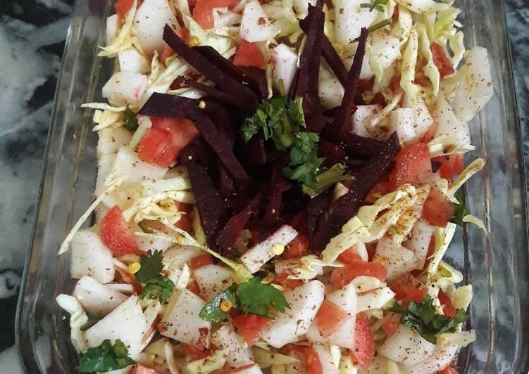 Recipe of Speedy Jhatpat salad