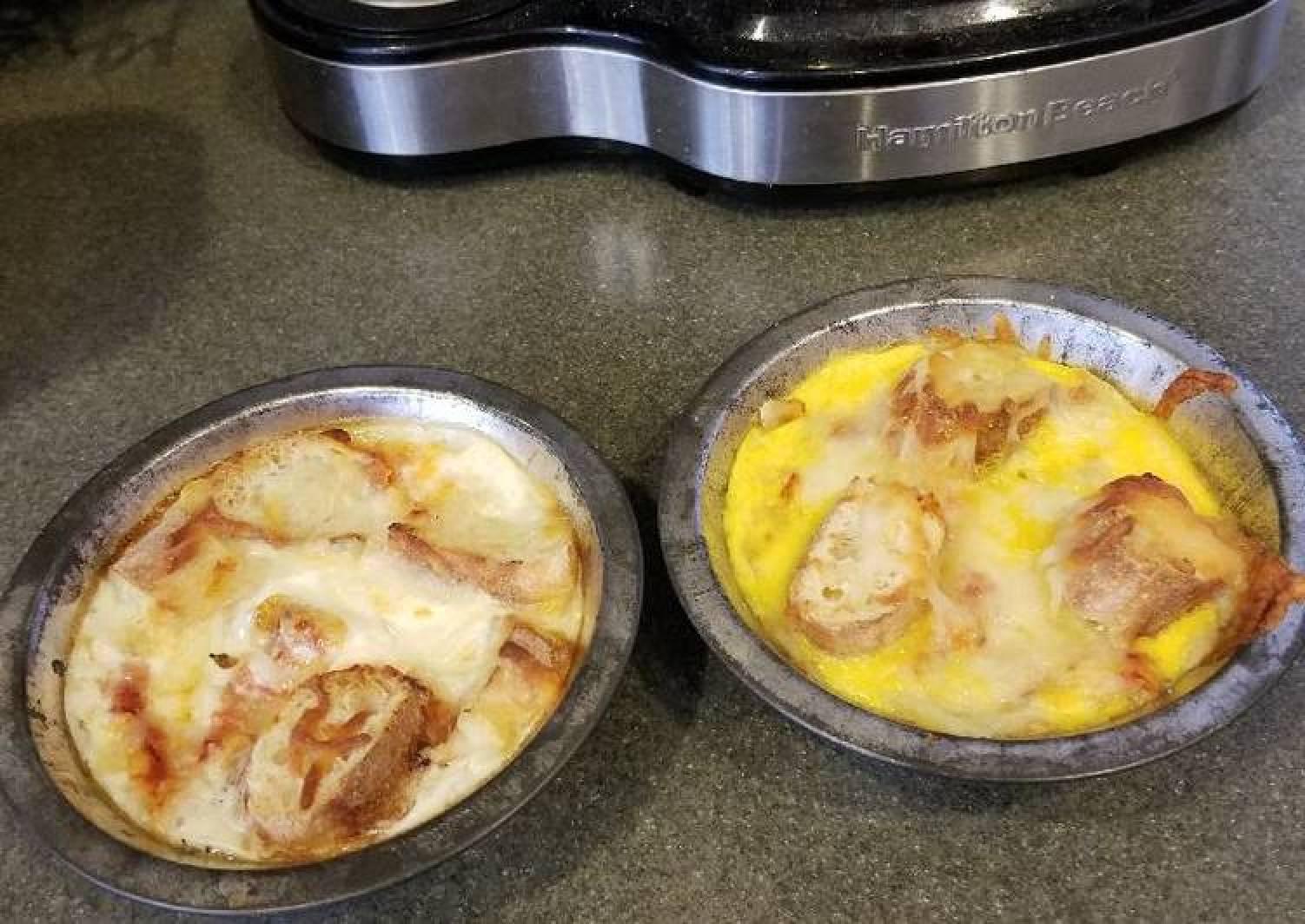 Pizza Casserole Mini-Pies