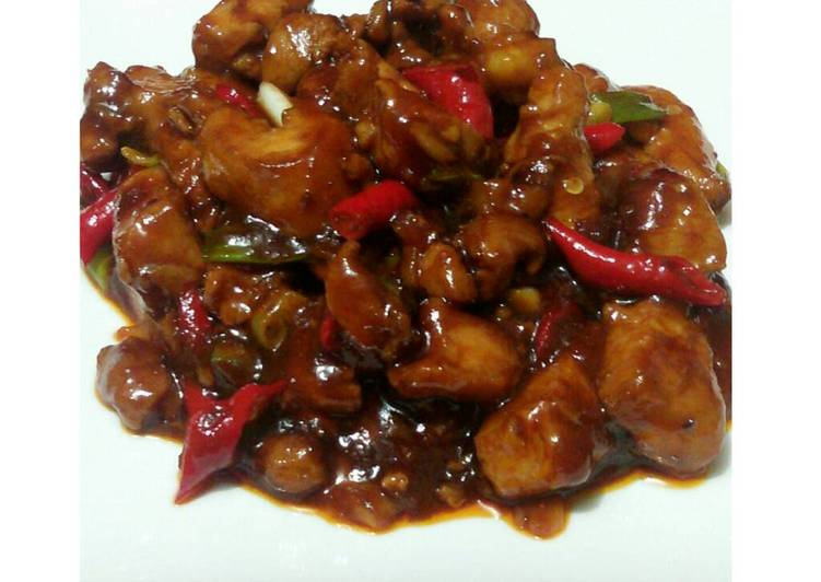 Kungpao chicken with honey / Ayam kungpao madu