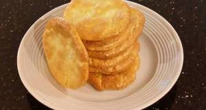 Cloud Bread with Romano Cheese and Garlic Pepper