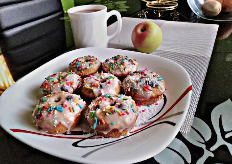 Baked Carrot cake donutsallstarscontest
