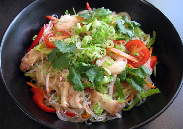 Steps to Make Award-winning Harusame Salad with Thai Dressing