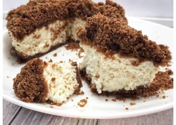 Шоколадная королевская пп ватрушка🌸 - пошаговый рецепт с ...