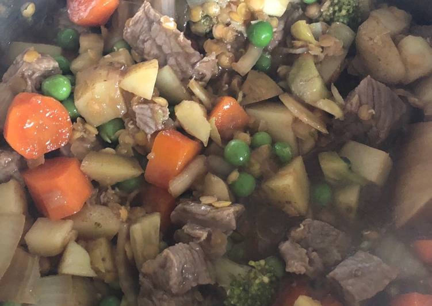 Beef and Vegetable hotpot