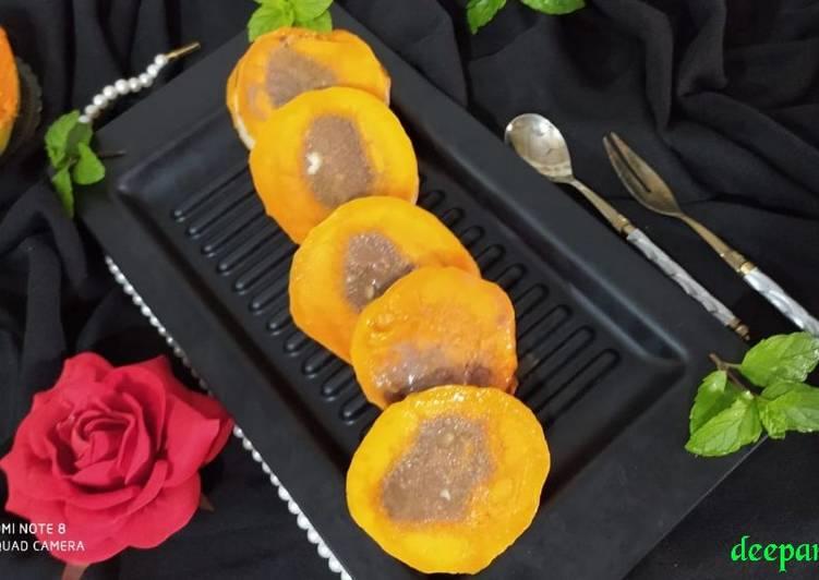 How to Prepare Any night of the week Stuffed Chocolate Mango Kulfi