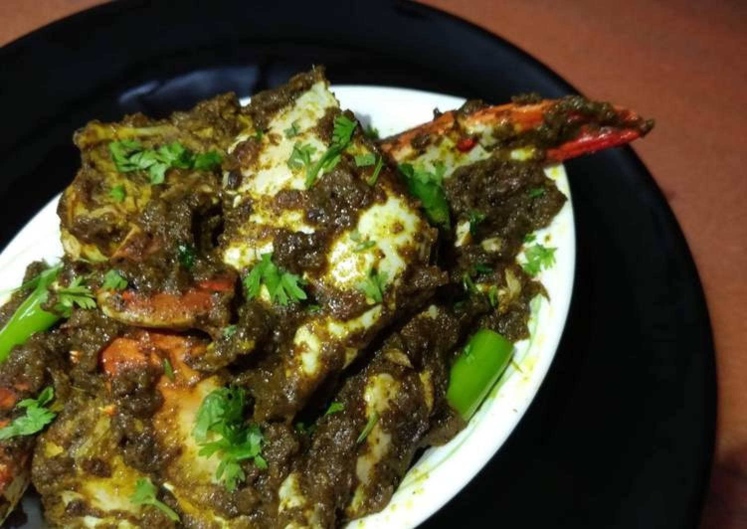 Crab Pepper Fry