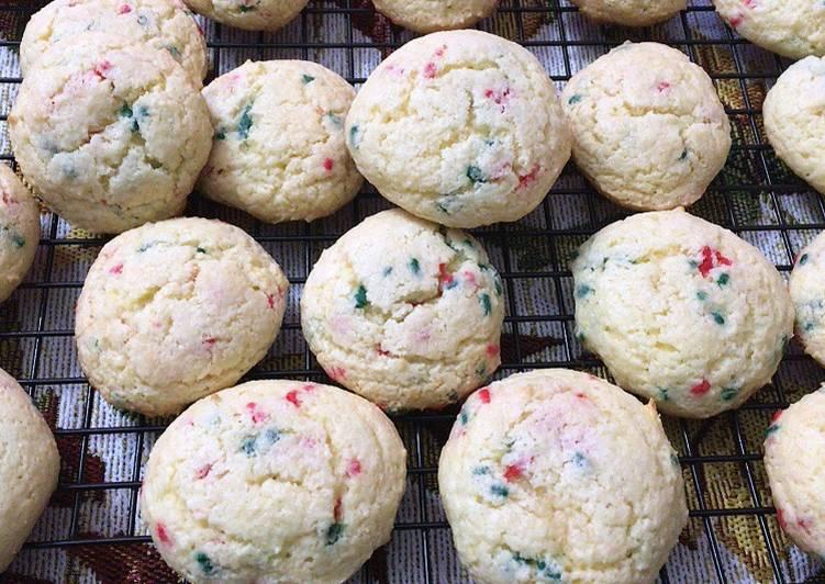 Recipe of Award-winning Cake Mix Birthday Cake Cookies Or Holiday cake cookies