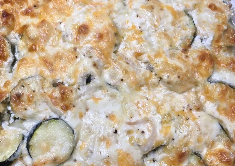 Keto Friendly Zucchini Casserole