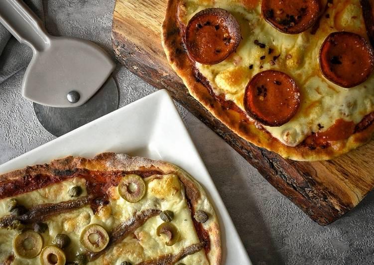 Super Easy Pizza Breads