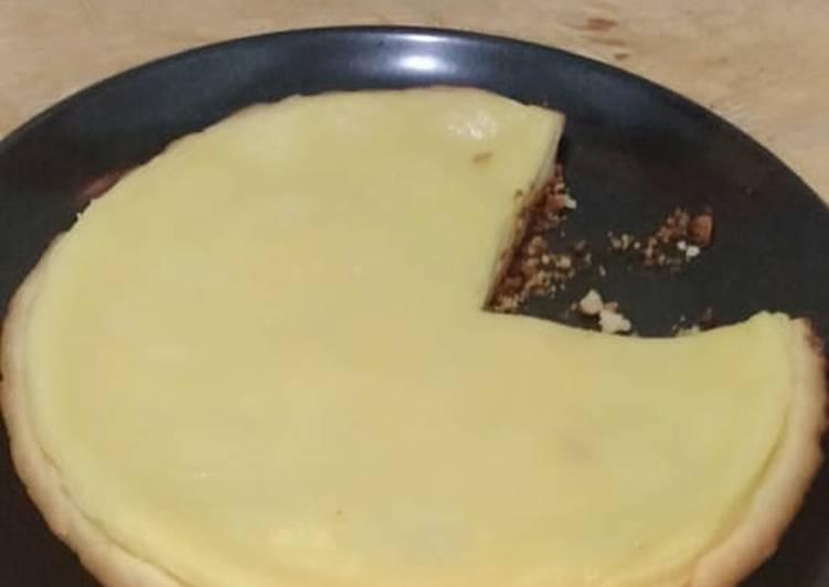 Pie Susu Teflon Ekonomis, viral di Tiktok