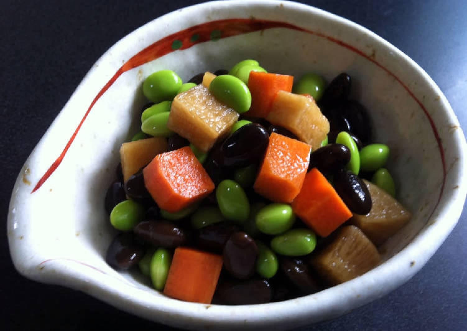 Ponzu Pickled Soy Beans