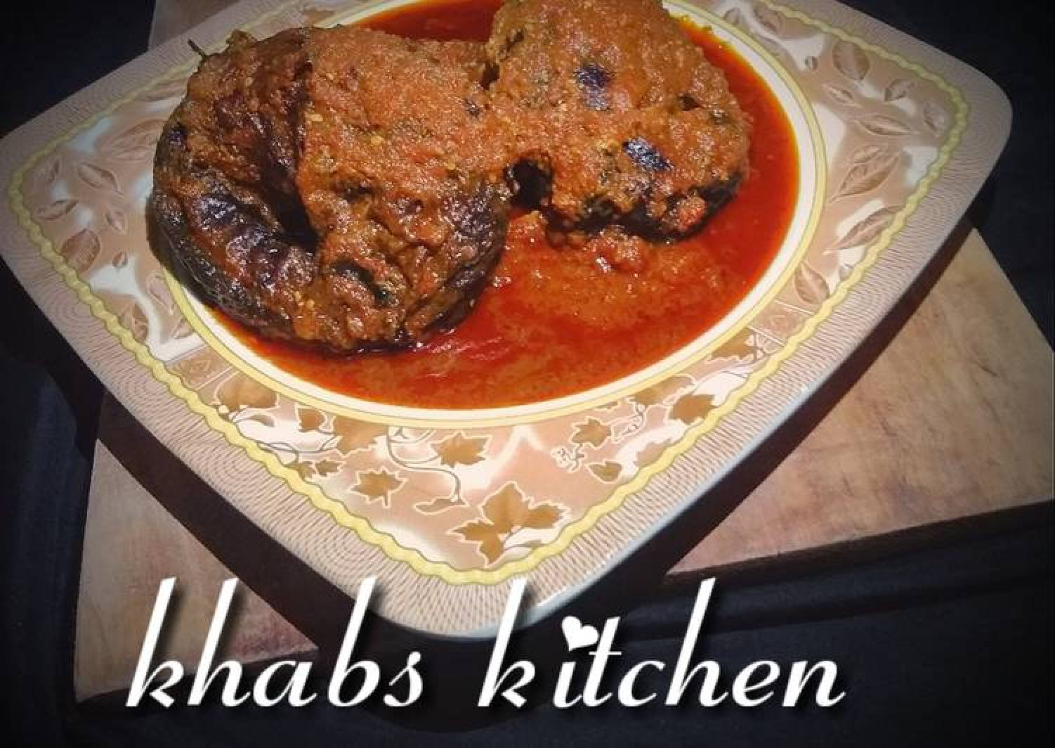 Dried fish palm oil stew