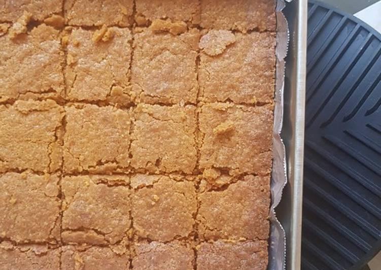 Salted Brown Butter Butterscotch Bars