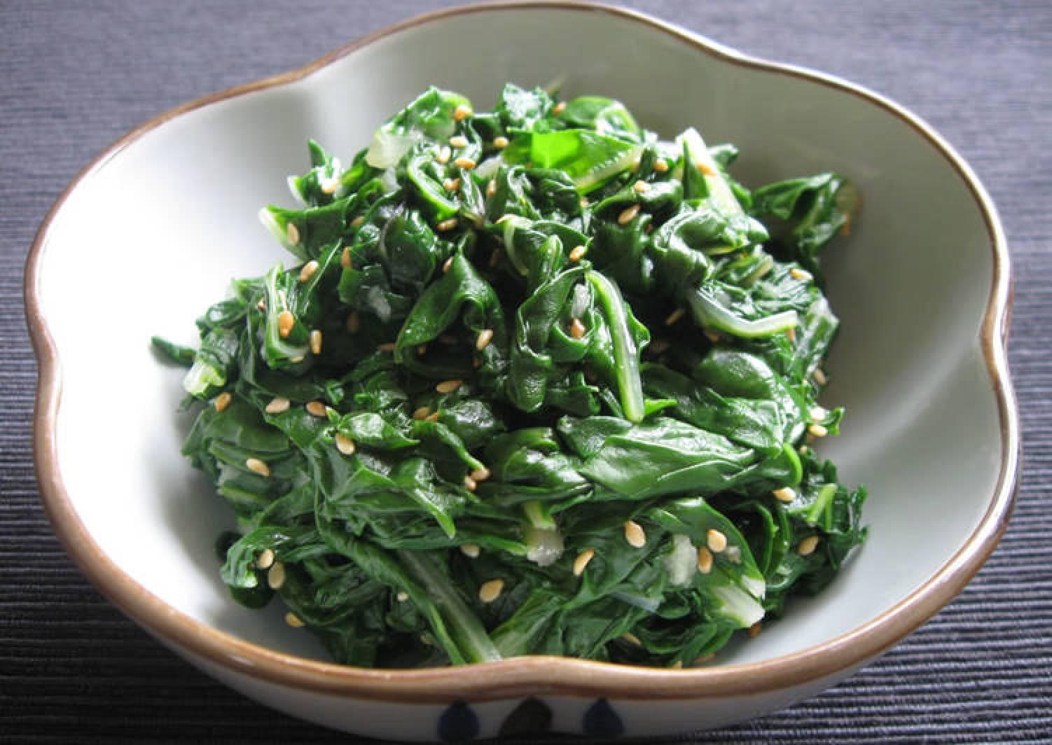 Silverbeet Leaves 'Namul'