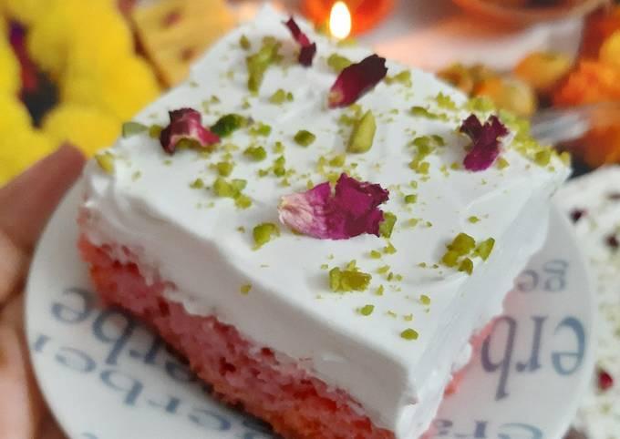Gulab Tres Leches Cake (Gluten free)