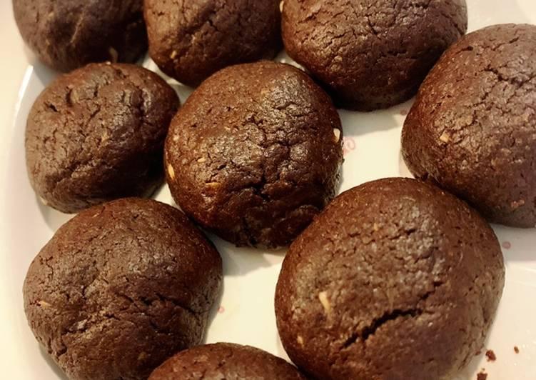 Triple Chocolate Crinkle Cookies