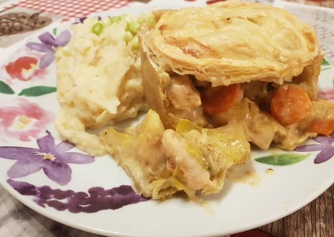 Recipe of Jamie Oliver Chicken pies