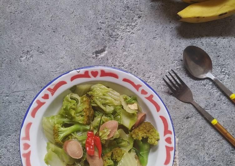 Cah Sawi Putih, Brokoli