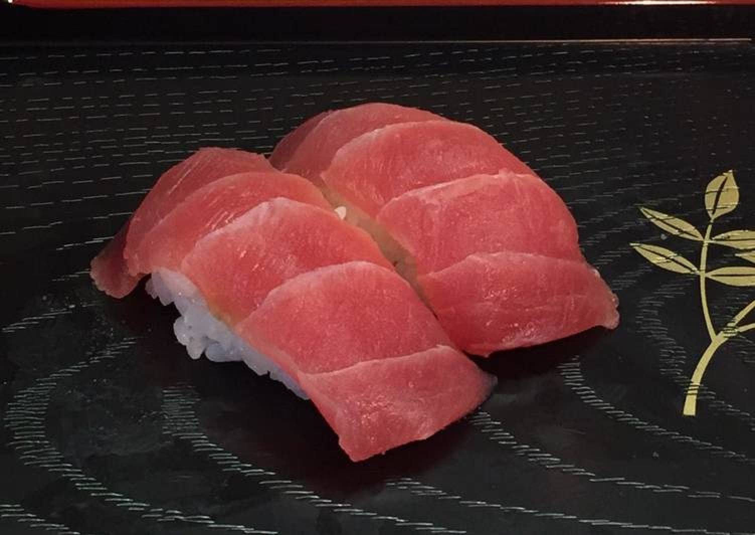 Traditional Tuna Nigiri Sushi