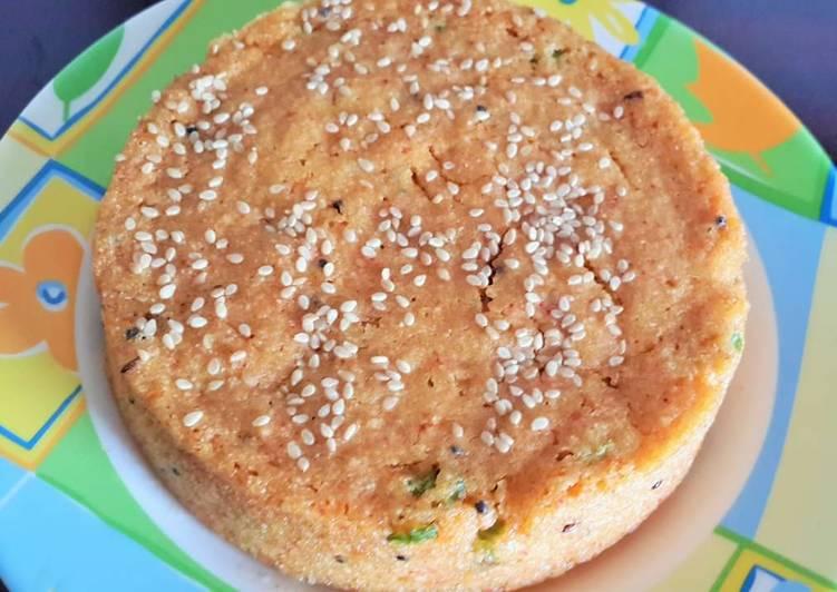 Steps to Prepare Ultimate Savory semolina cake