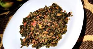 Ground beef with spinach and fresh tomatoes allstarscontest