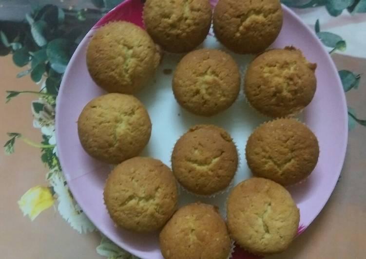 Recipe of Favorite Orange cupcakes#Cupcake contest