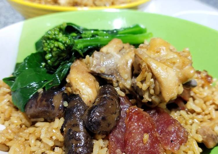 Claypot Chicken Rice by Rice Cooker