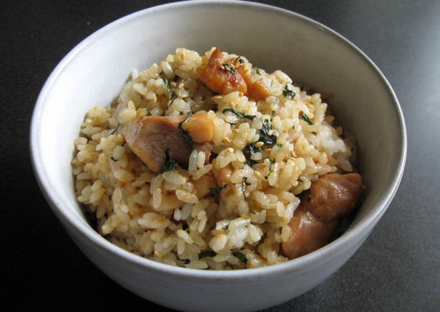 Chicken & 'Shiso' Mazegohan
