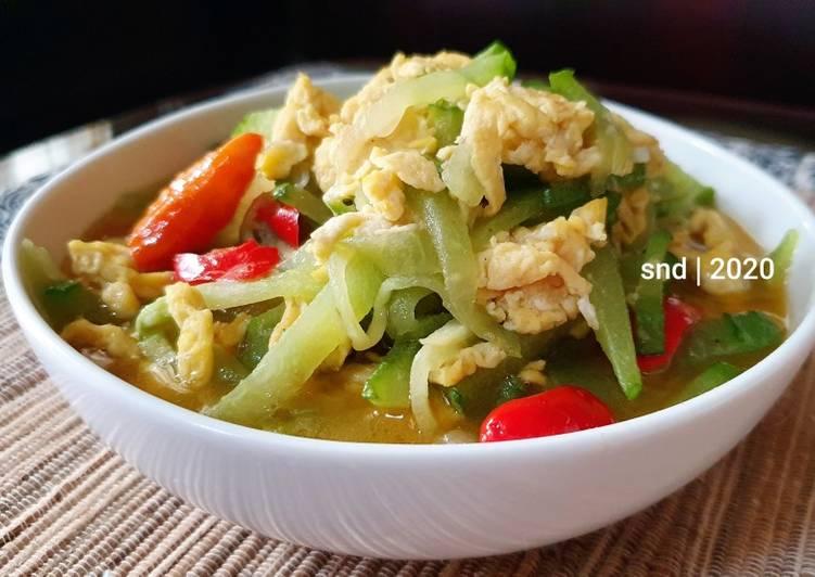 Sayur Labu Siam Telur #masakanindo