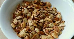 Vickys Garlic  Paprika Roasted Pumpkin Seeds GF DF EF SF NF