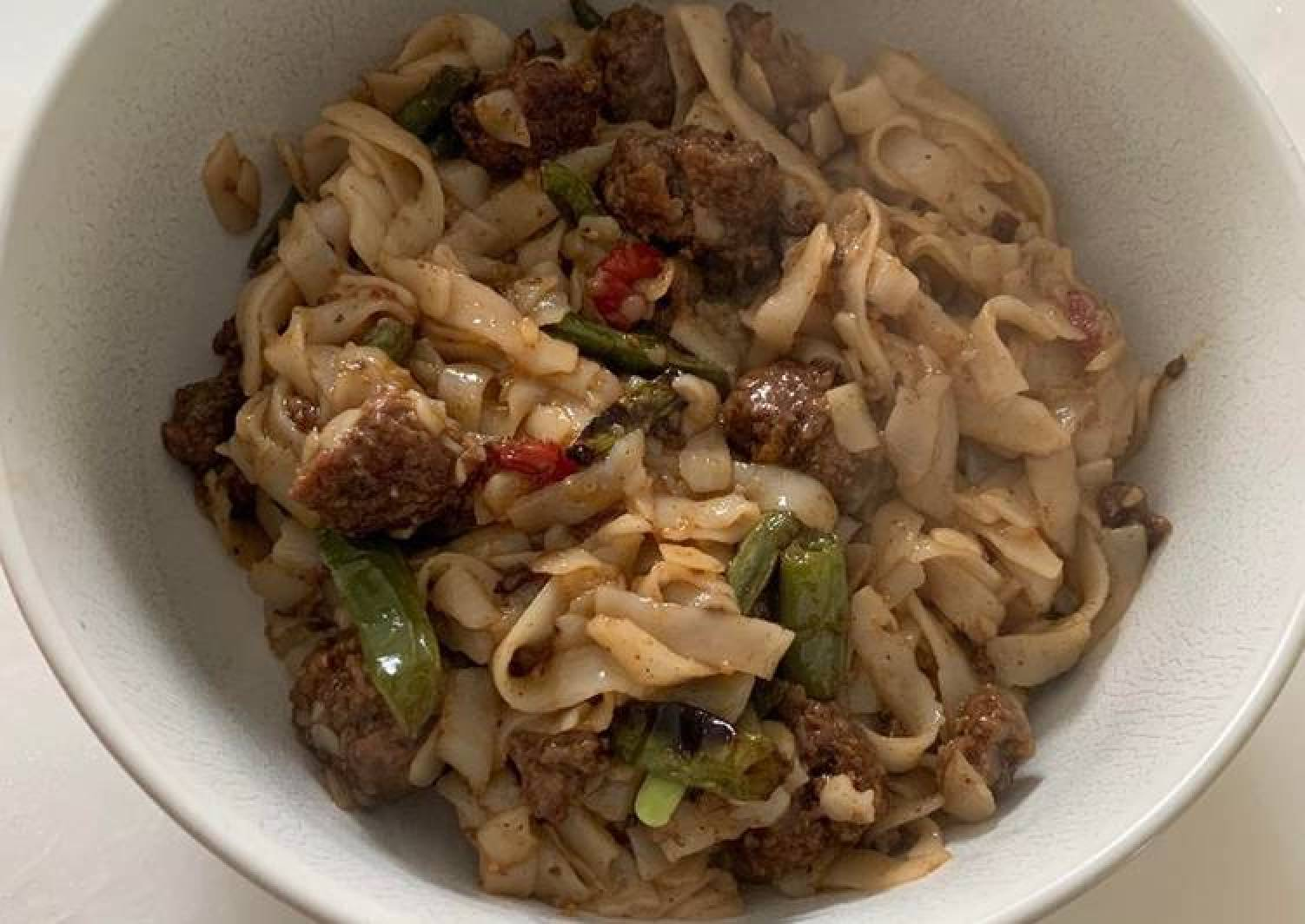 Beef and Asian Noodle Stir Fry