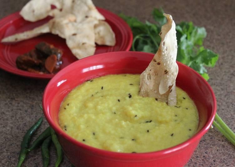 Maheri (a traditional breakfast recipe)