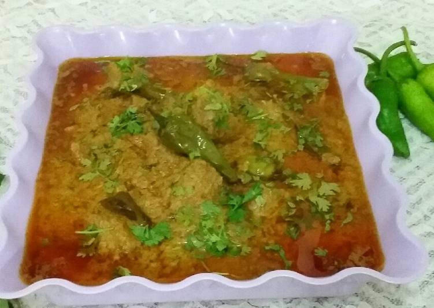 Hyderabadi Mirch Gosht