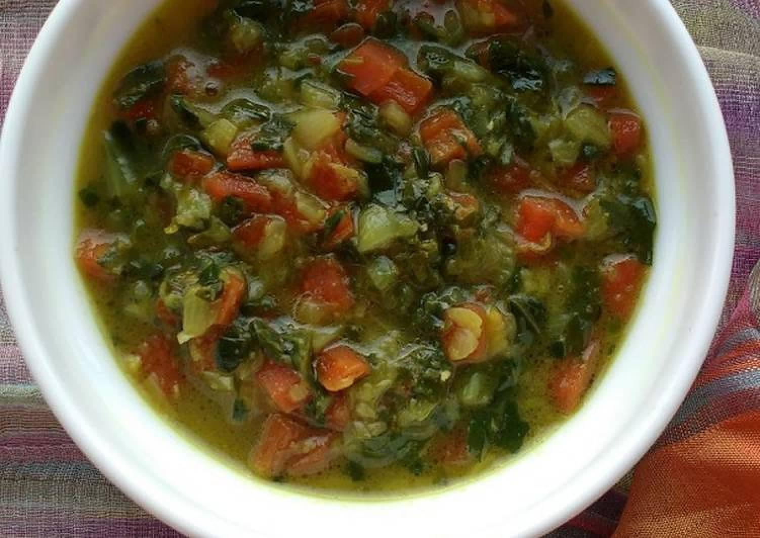 Carrot-fenugreek curry