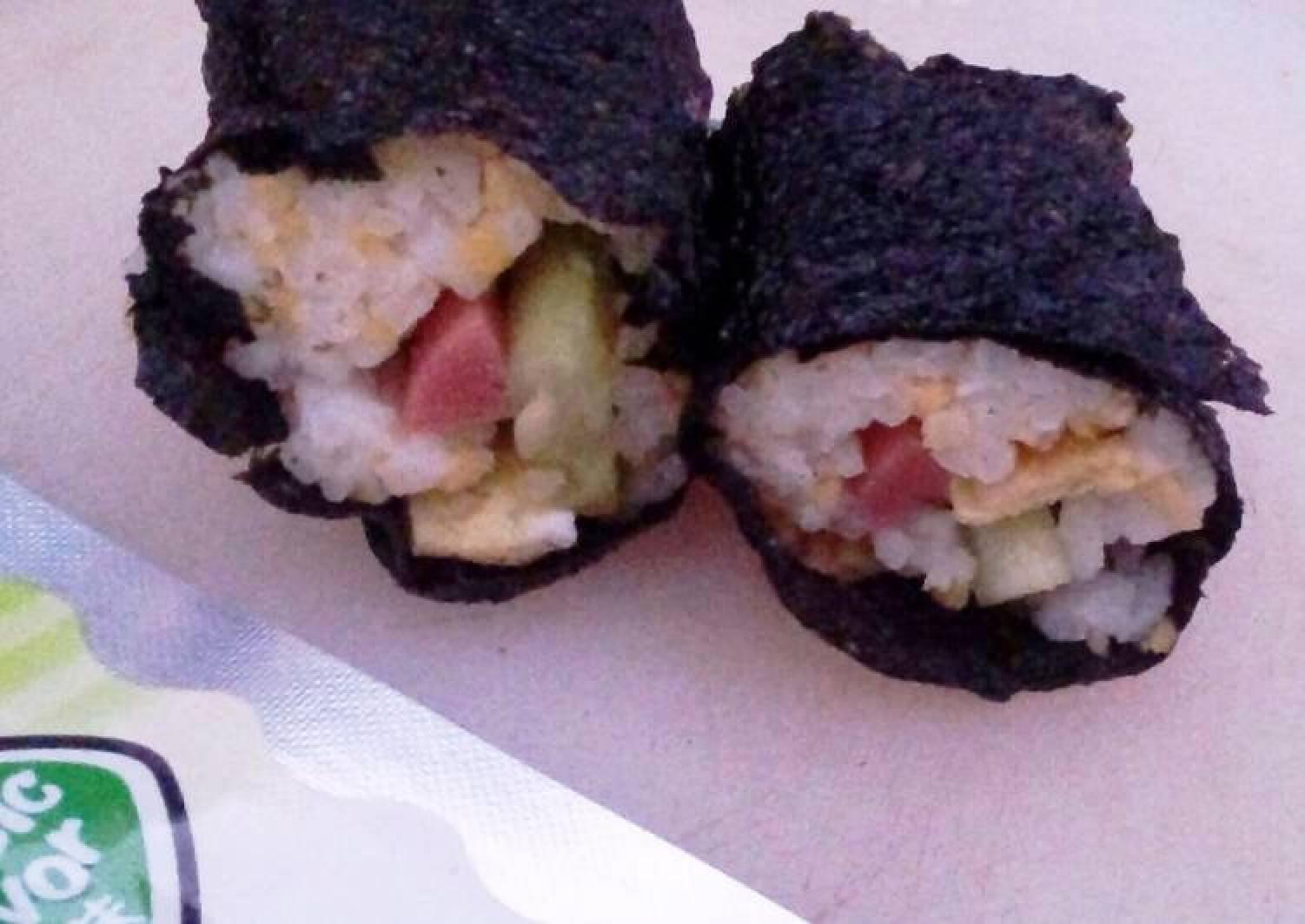 Shapeless Japanese Sushi