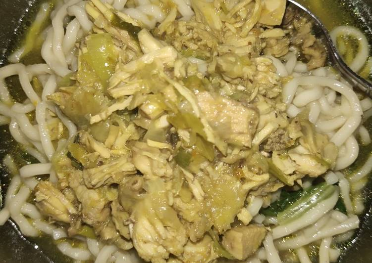 Toping mie ayam solo
