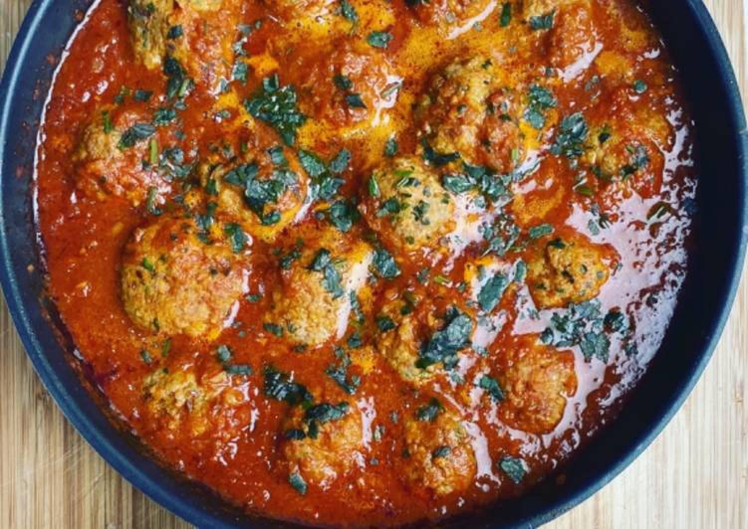 Lamb meatballs / keema kofta