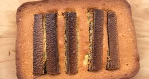 Chocolate Waffle Butter Cake