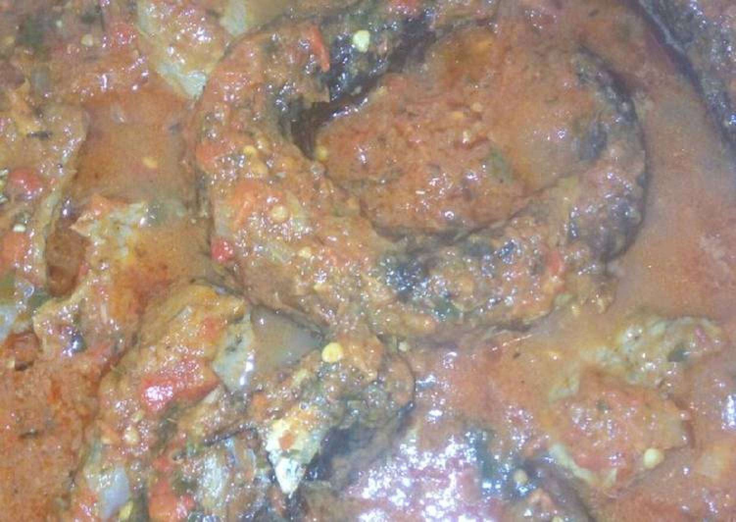 Kpanla fish stew